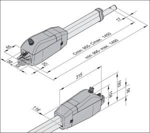 Automaatika Sommer Twist 350 mõõdud