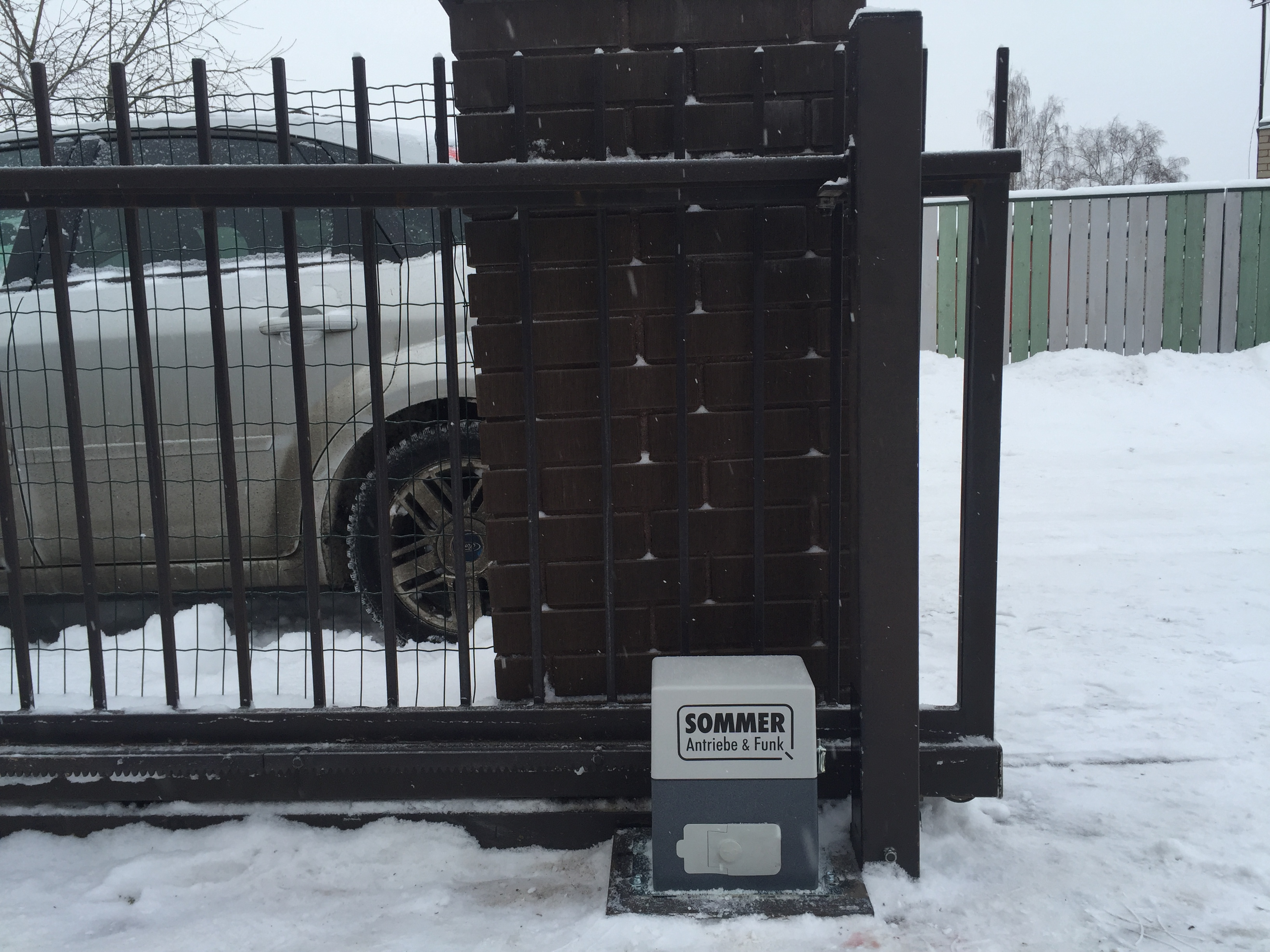 Liugvärava automaatika Sommer SM40T